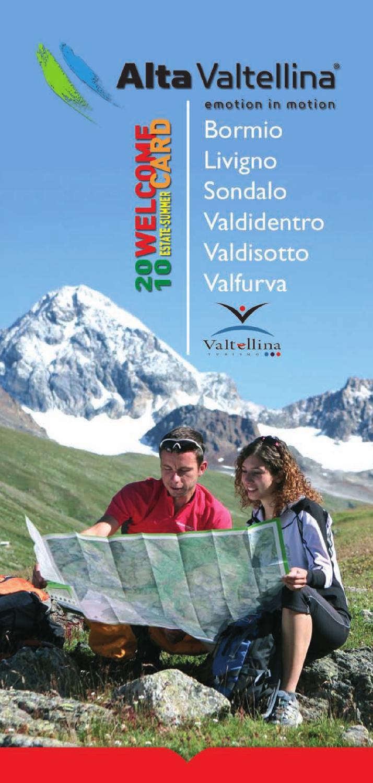 Welcome Valtellina Alta Estate 2010 Card wiuOTPkZX