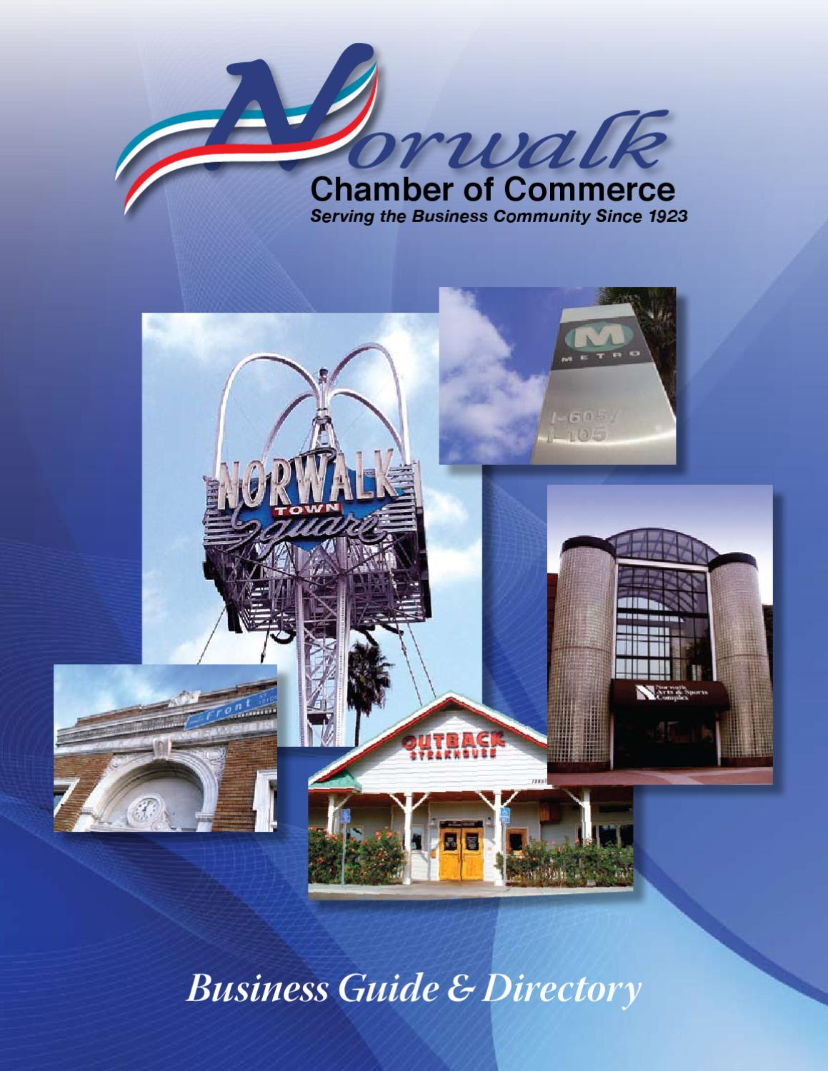 2010 Norwalk Chamber of Commerce Publication by Los Cerritos