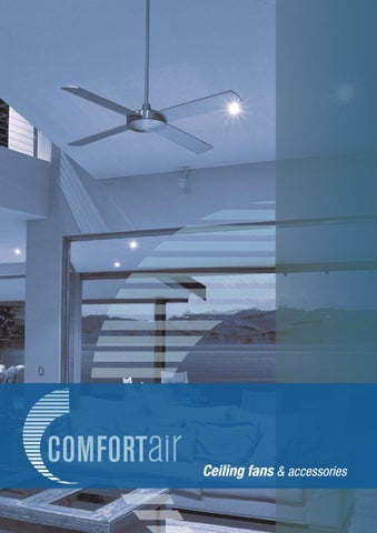 Comfortair Ceiling Fans & Accessories Catalogue by Lighting Plus - issuu