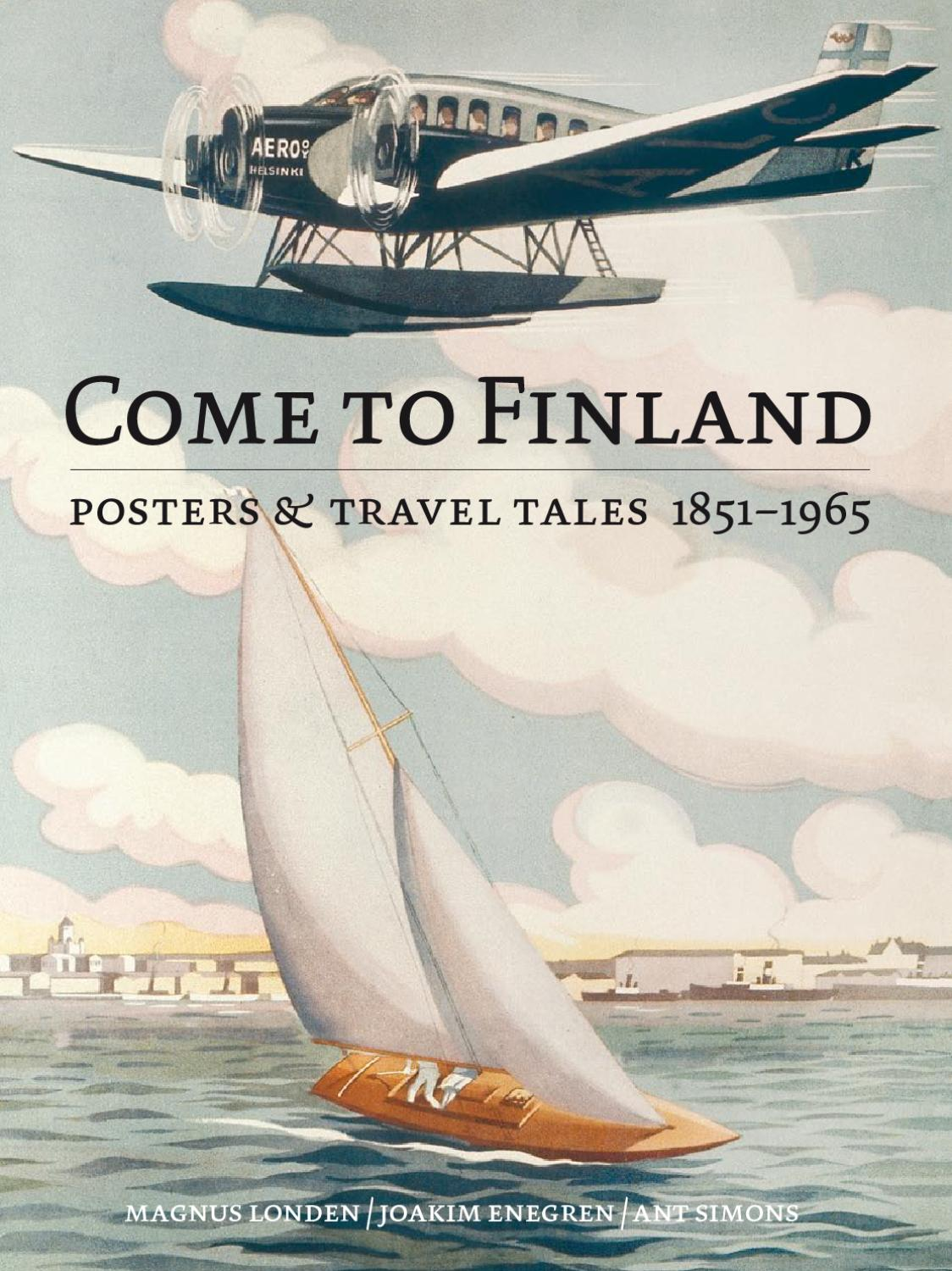 Come To Finland Posters Travel Tales 1851 1965 By Come To