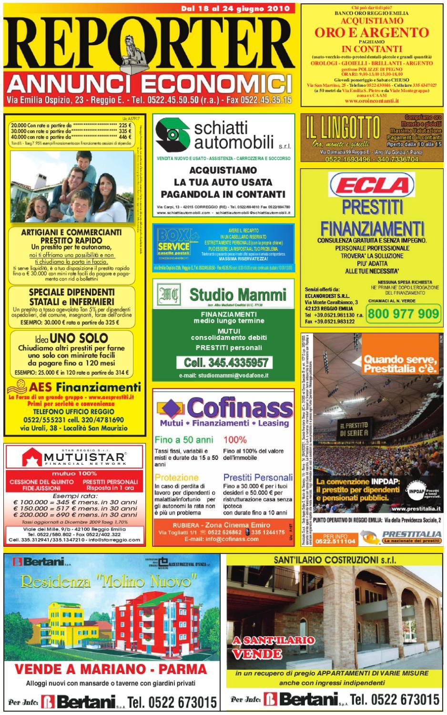 Reporter Annunci 18 Giugno 2010 by Reporter - issuu 5a63d018946