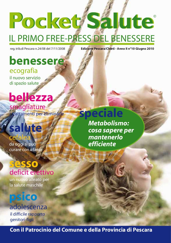 Pocket Salute Edizione Pescara Chieti Giugno 2010 by Pocket