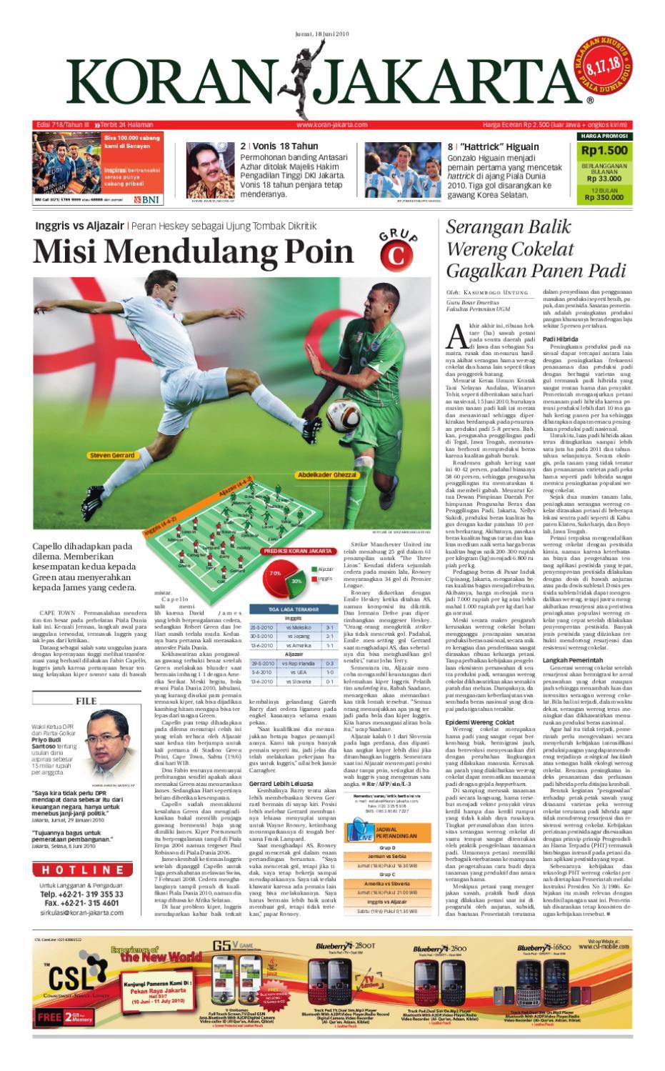 Edisi 718 18 Juni 2010 By Pt Berita Nusantara Issuu Produk Ukm Bumn Jamu Kunyit Asam Seger Waras