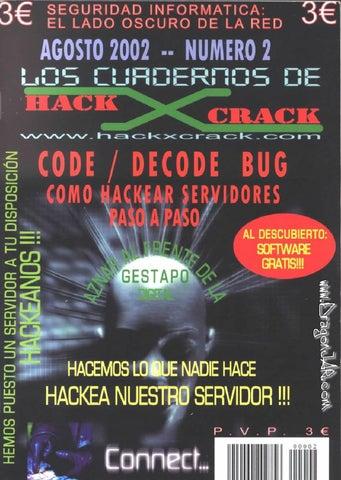 los cuadernos de hackxcrack