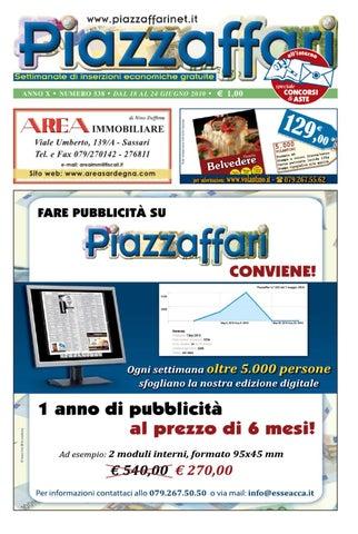 Piazzaffari n° 538 del 18 giugno 2010 by Marco Cau - issuu a1908841fba