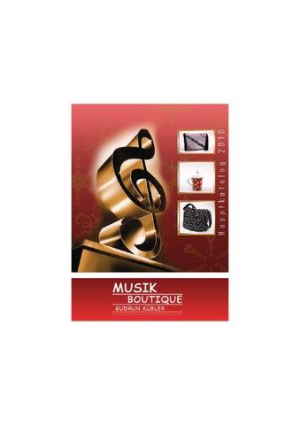 Kissenbezug Kissenhülle 40x40 cm Horn Harfe Geige Saxophon Trompete Musik Noten