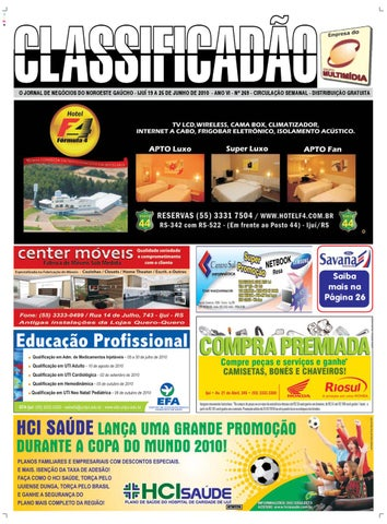 7dd2a0ad3 Jornal Classificadão - Edição 269 by Jornal Classificadão - issuu