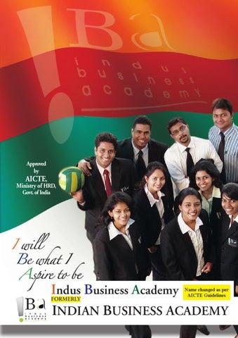IBA Prospectus 10-11