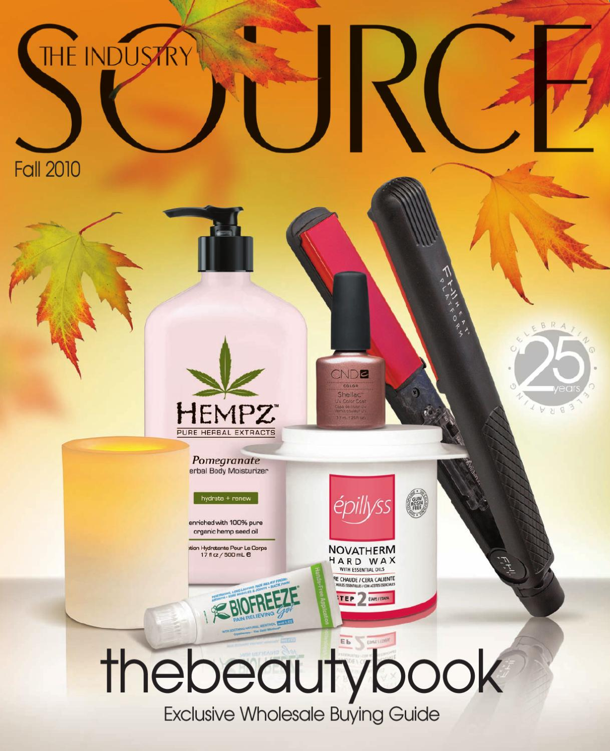 The Industry Source Fall 2010 the beautybook by TNG Worldwide - issuu