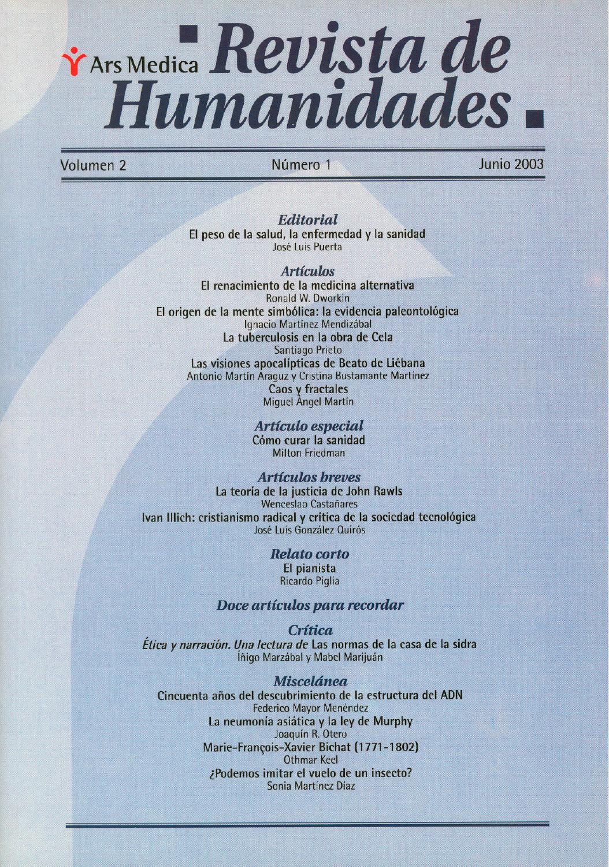 2-1 Dendra Medica / Ars Medica Vol 2 Num 1 by Jose Manuel Perez Rua ...
