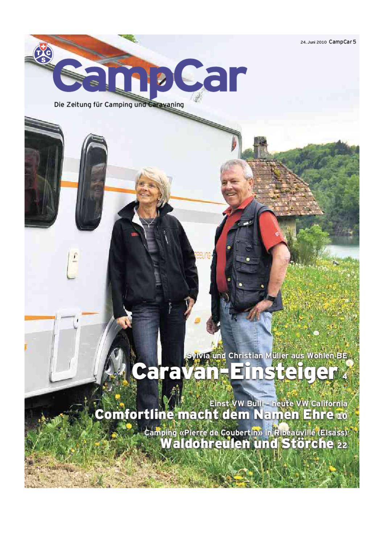 CampCar 05/2010 deutsch by Touring Club Schweiz Suisse Svizzera ...