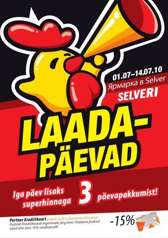 e4f85436eb4 Selver Laadapäevad by Selver - issuu