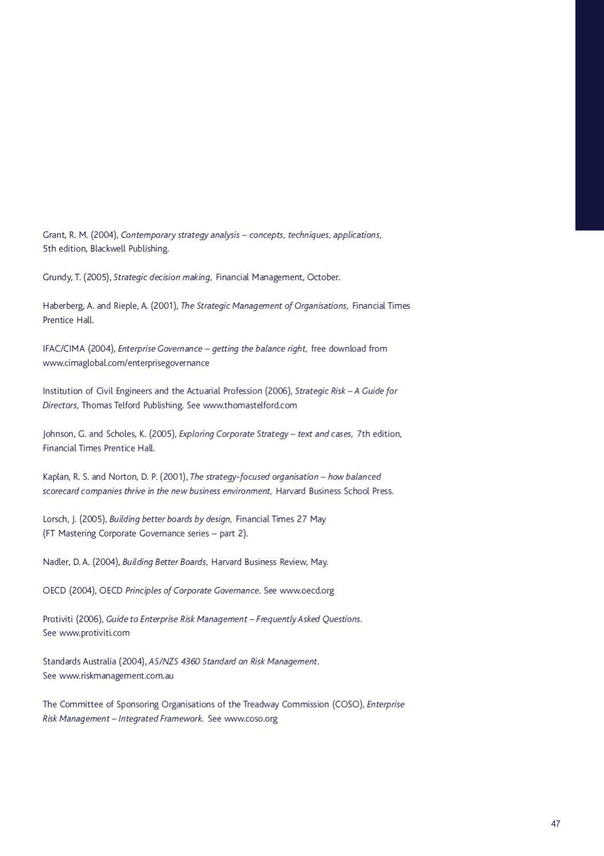 CIMA Strategic Scorecard™: full report by Chartered