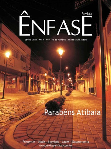 Ênfase 16 by Ênfase Atibaia - issuu a7568a41e7