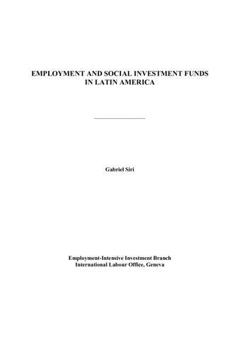 Latin America Funds
