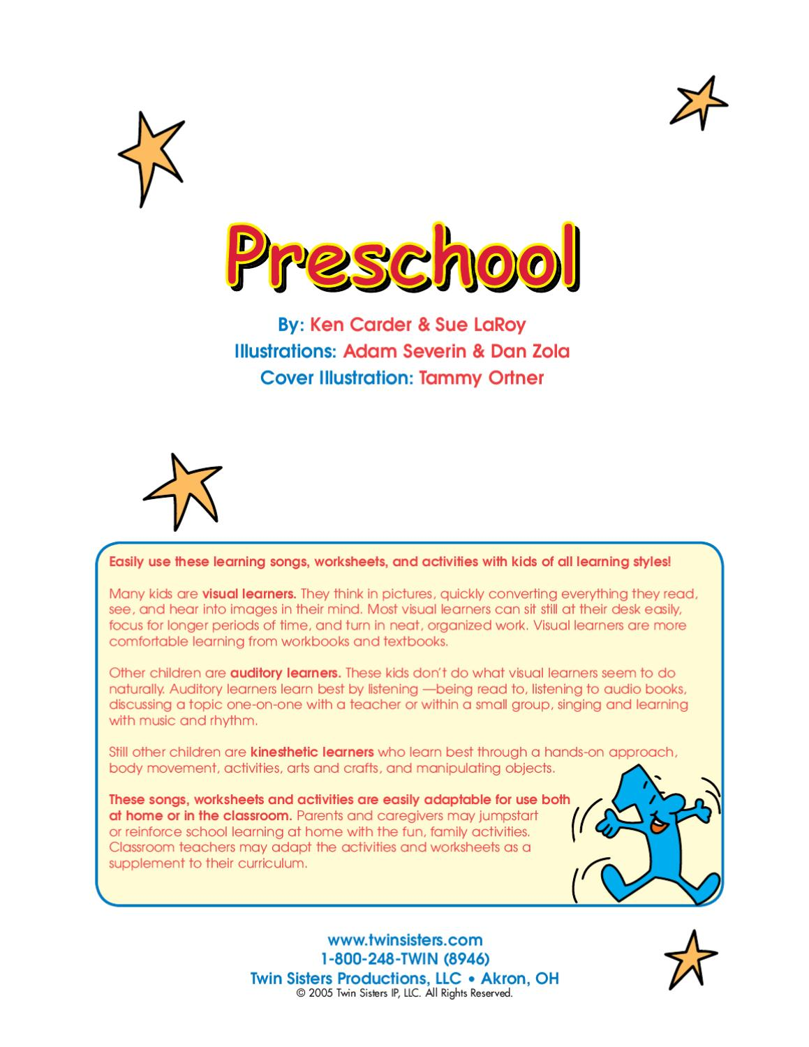 96 Page Workbook By Twin Sisters Productions Issuu