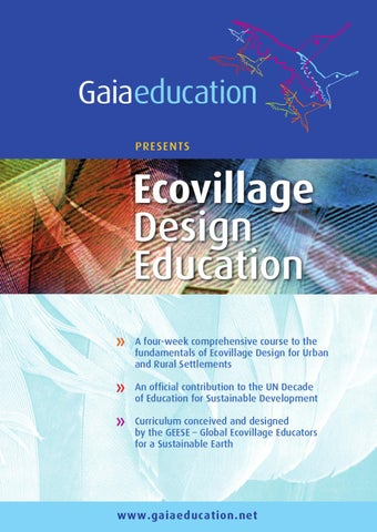 Ev Design Curriculum By Gaia Education Issuu