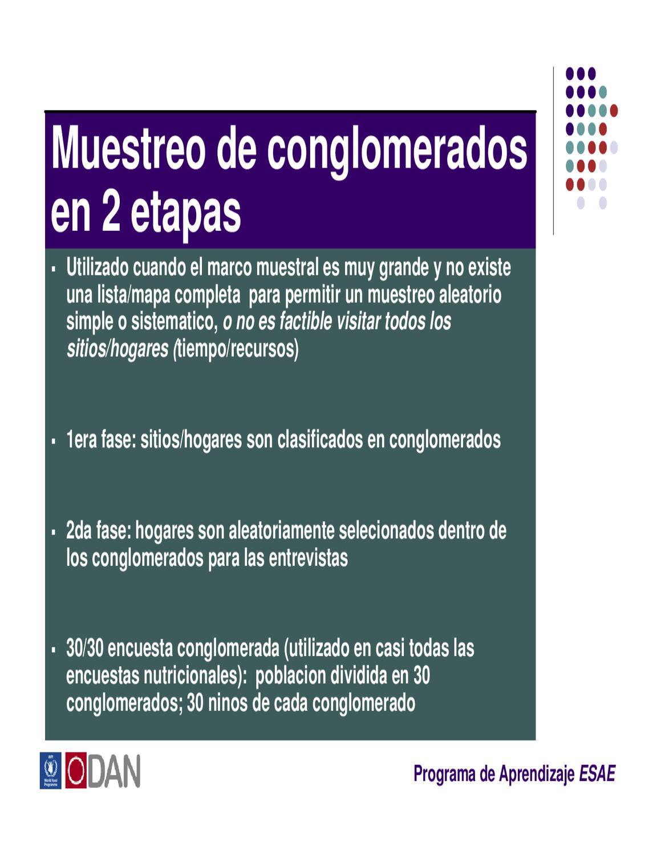 2.1 Muestreo by World Food Programme - issuu