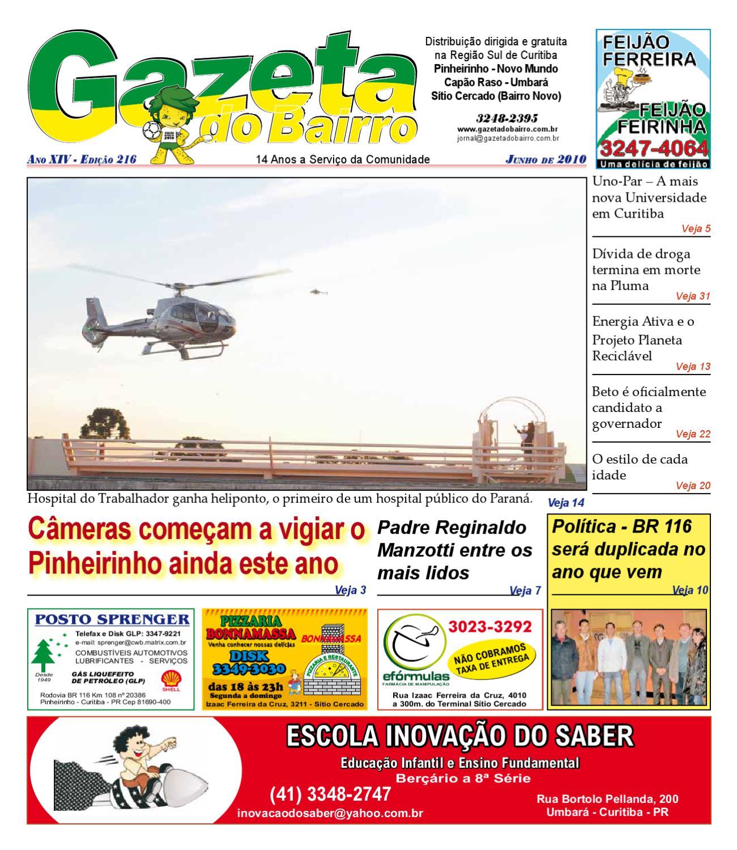 Gazeta do Bairro Jun 2010 by Gazeta do Bairro - issuu e8decca31f13