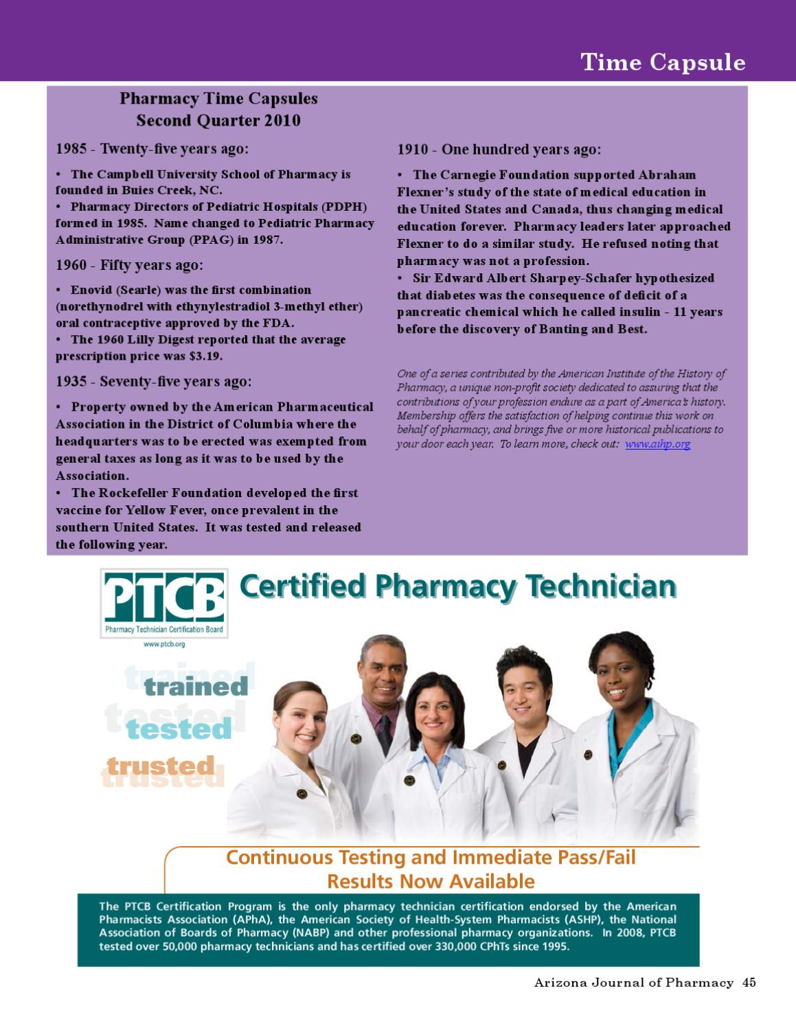 Ajp summer 2010 by arizona pharmacy association issuu xflitez Choice Image