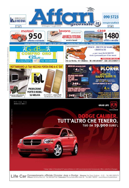 reputable site 09a9e df616 Giornale Affari 25 Giugno 2010 by Editoriale Affari Srl - issuu