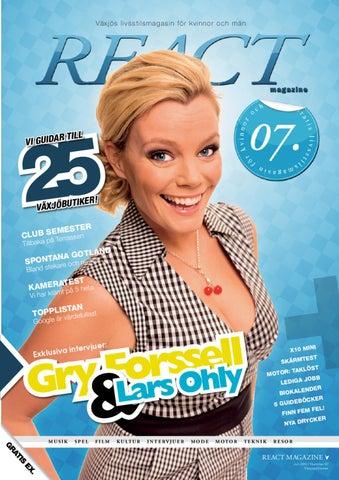 a78905cf0bd React Magazine nr 7, 2010 Växjö by Valinor Media AB - issuu