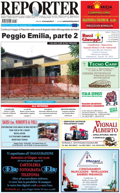 Termosanitaria San Vito Dei Normanni reporter giornale 25 giugno 2010 by reporter - issuu