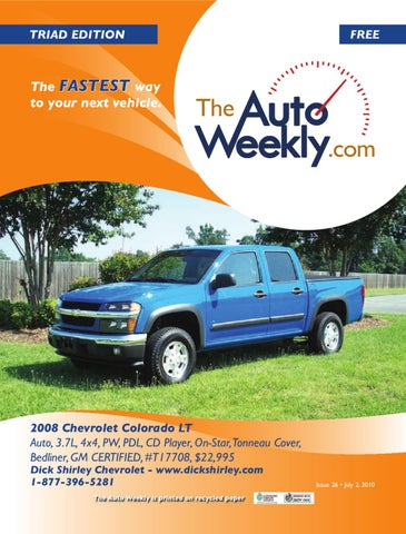 Issue 1026b triad edition the auto weekly by the auto weekly issuu page 1 publicscrutiny Gallery