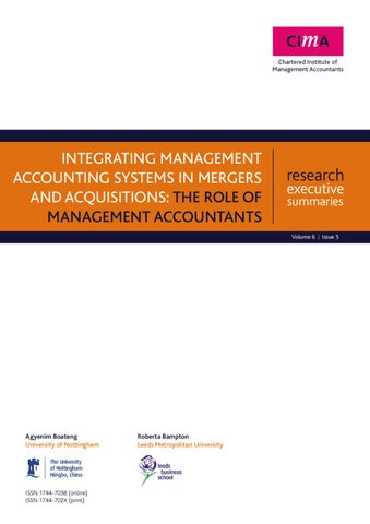role of management accounting systems in Management accountant is an officer who is entrusted with management accounting function of an organization he plays a significant role in the decision making process of an organization the organizational position of management accountant varies from concern to concern depending upon the pattern of management system.