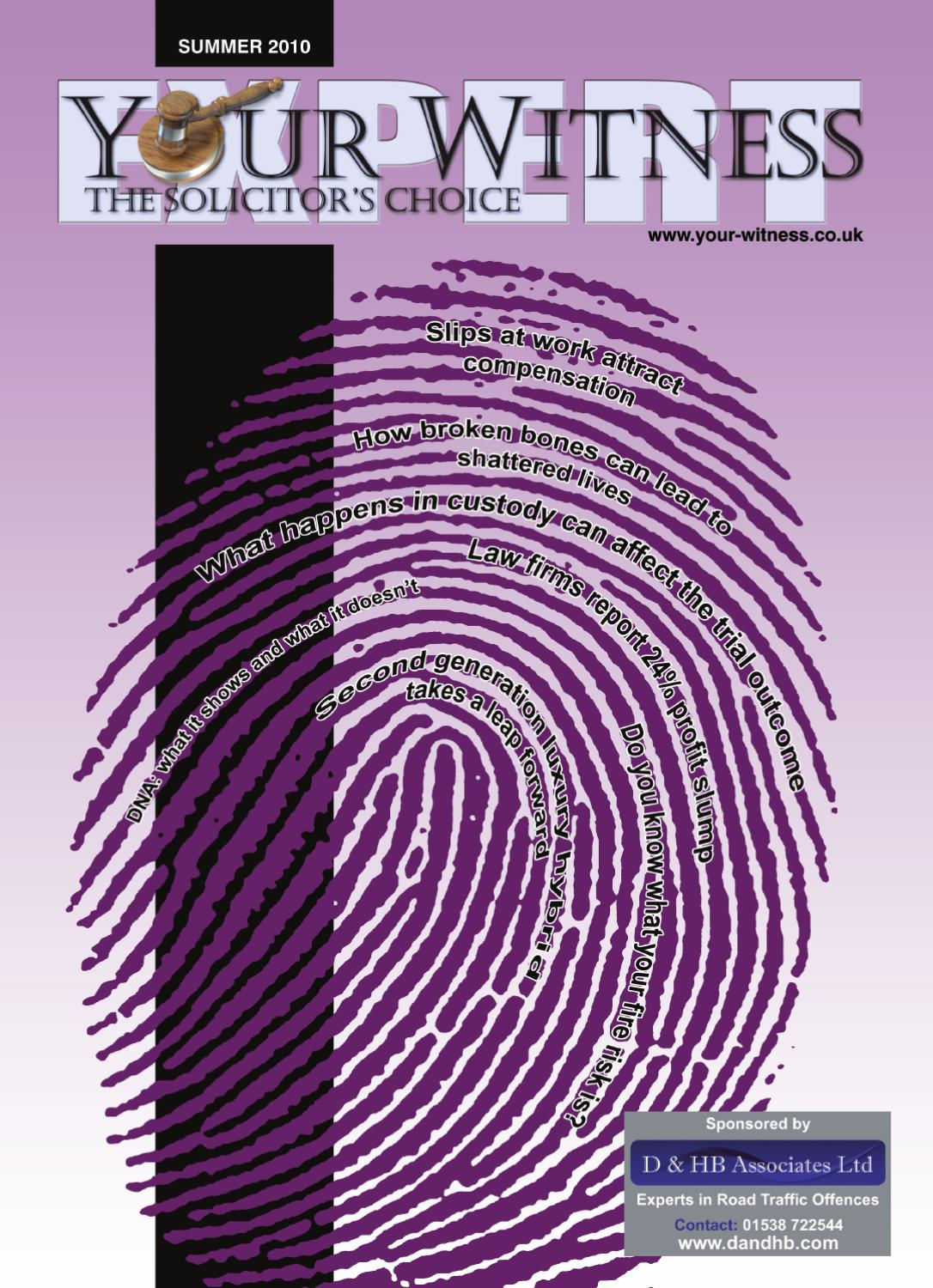 Your Expert Witness by DMMonline - issuu