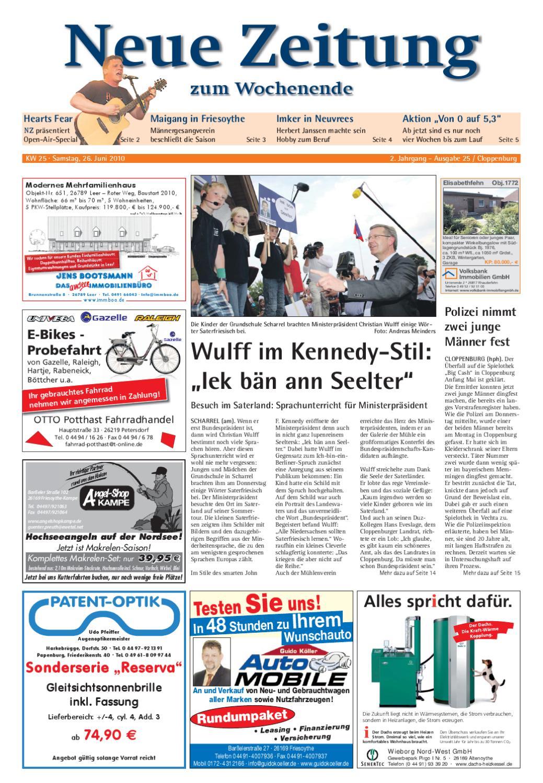 816b3306d1ffa3 Neue Zeitung - Ausgabe Cloppenburg KW 25 by Gerhard Verlag GmbH - issuu