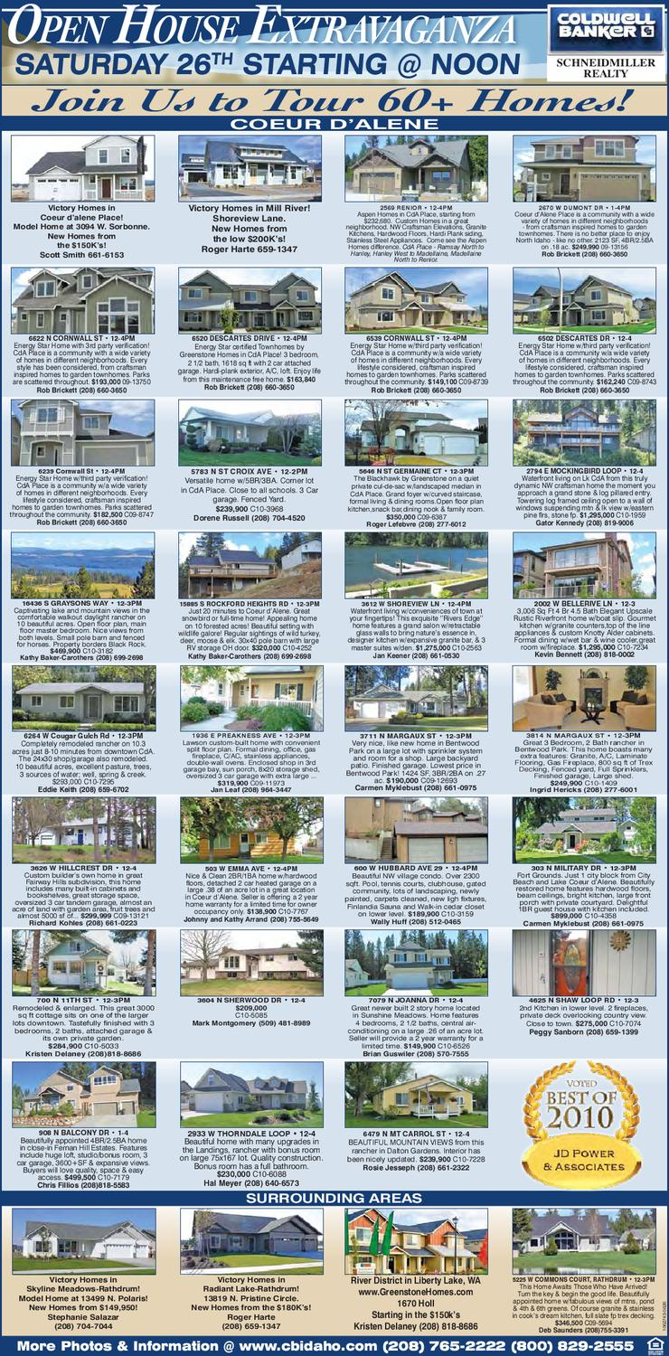 June Open House Extravaganza by Coldwell Banker - issuu ceb4c656c1