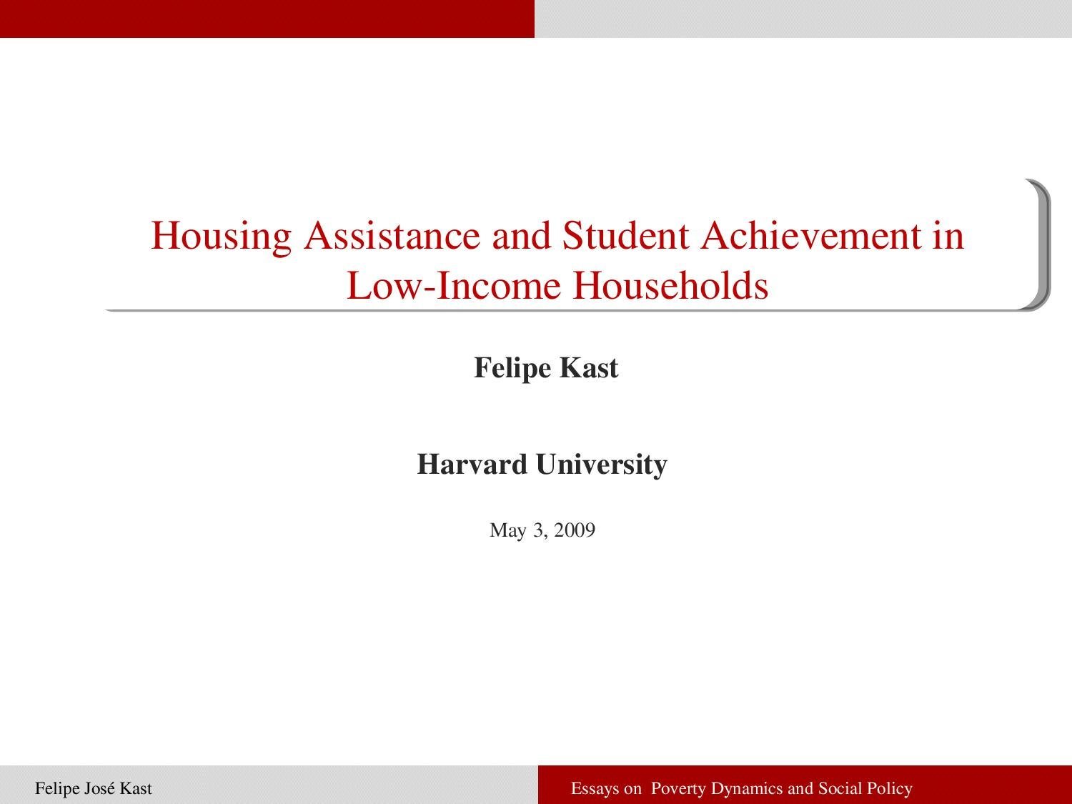 essays on poverty dynamics and social policy Msc in public policy and human development specialized social policy  financing from  essays on poverty dynamics and social mobility.