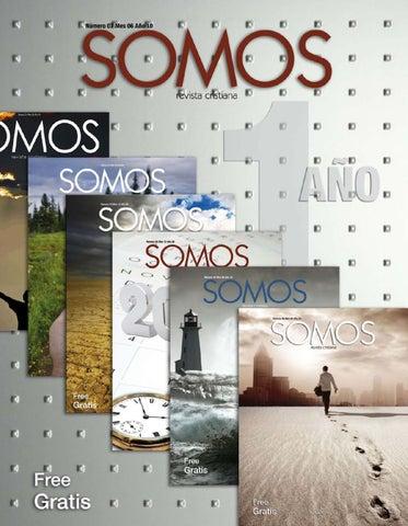 Revista Cristiana SOMOS – Número 07 Mes 06 Año 10
