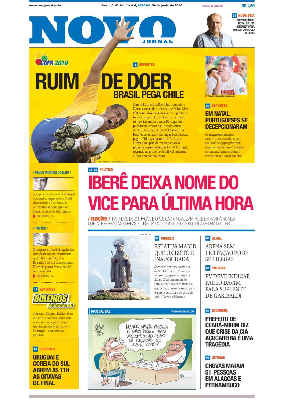 419fa12399 26-06-2010 by Novo Jornal - issuu