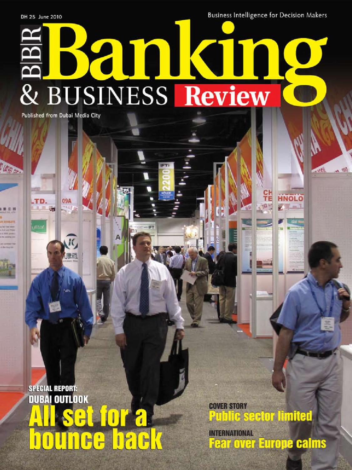 Banking & Business Review June' 10 by Sterling Publications