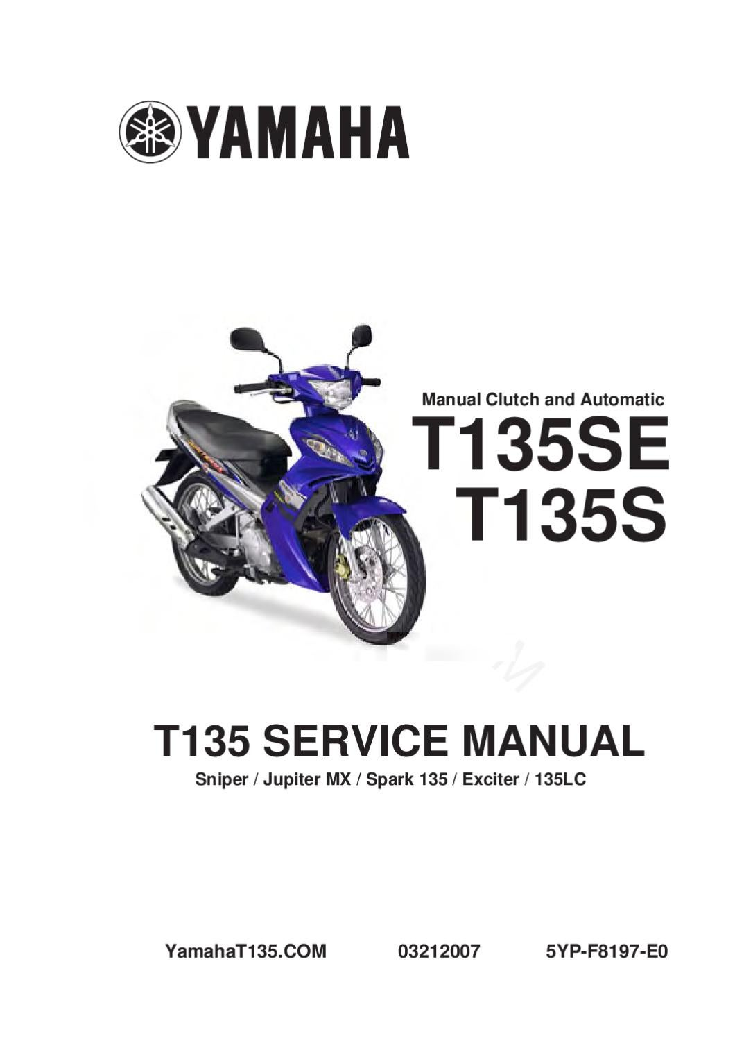 Yamaha T135 Wiring Diagram Pdf Electrical 135lc Sniper By Athanasios Vrakas Issuu 89 Jeep Yj