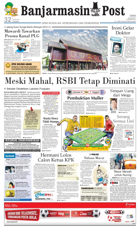 Banjarmasin Post - Edisi Senin 215a481533