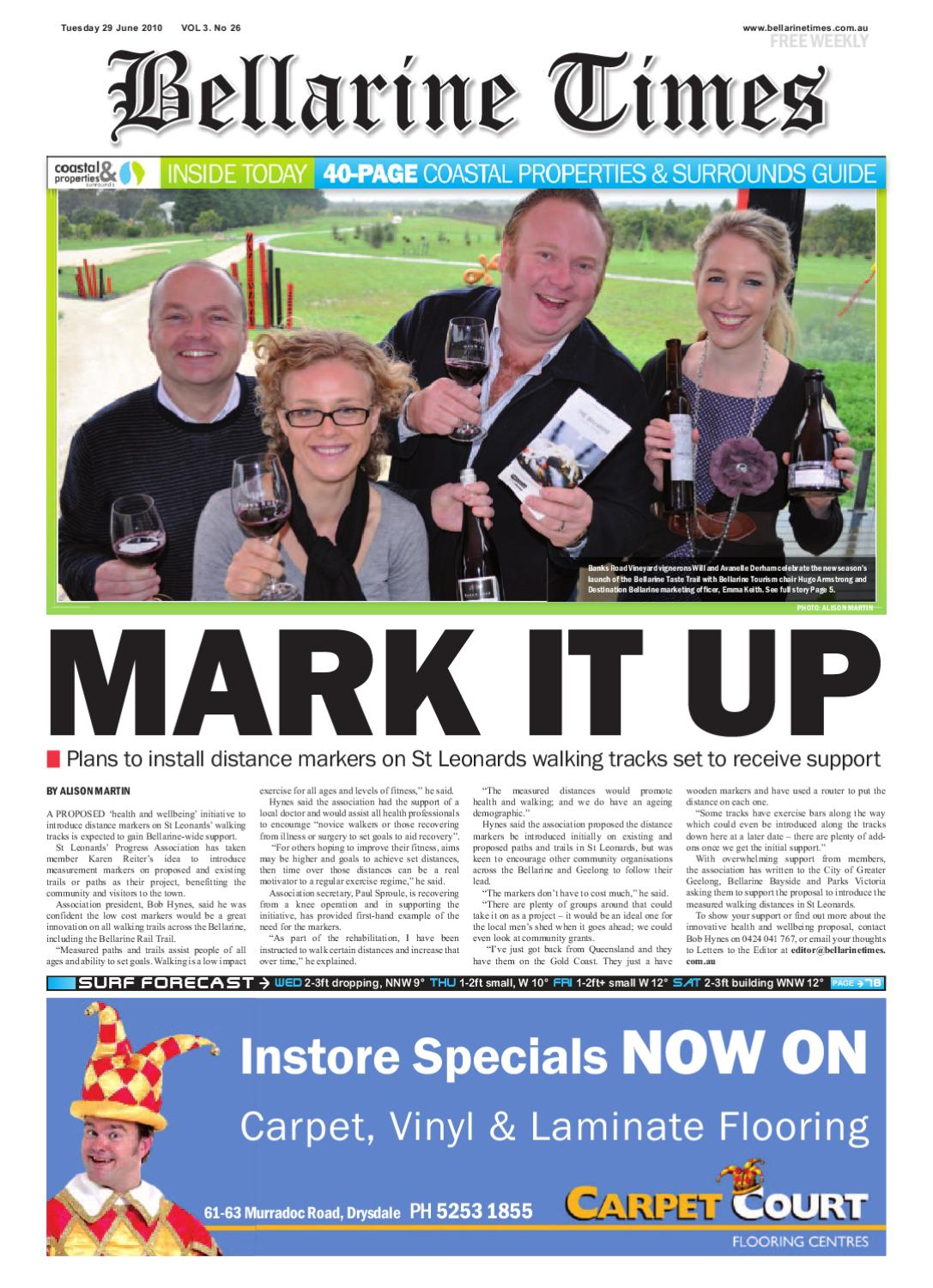 BellarineTimes Jun29 By Surf Coast News Australia Pty Ltd Issuu