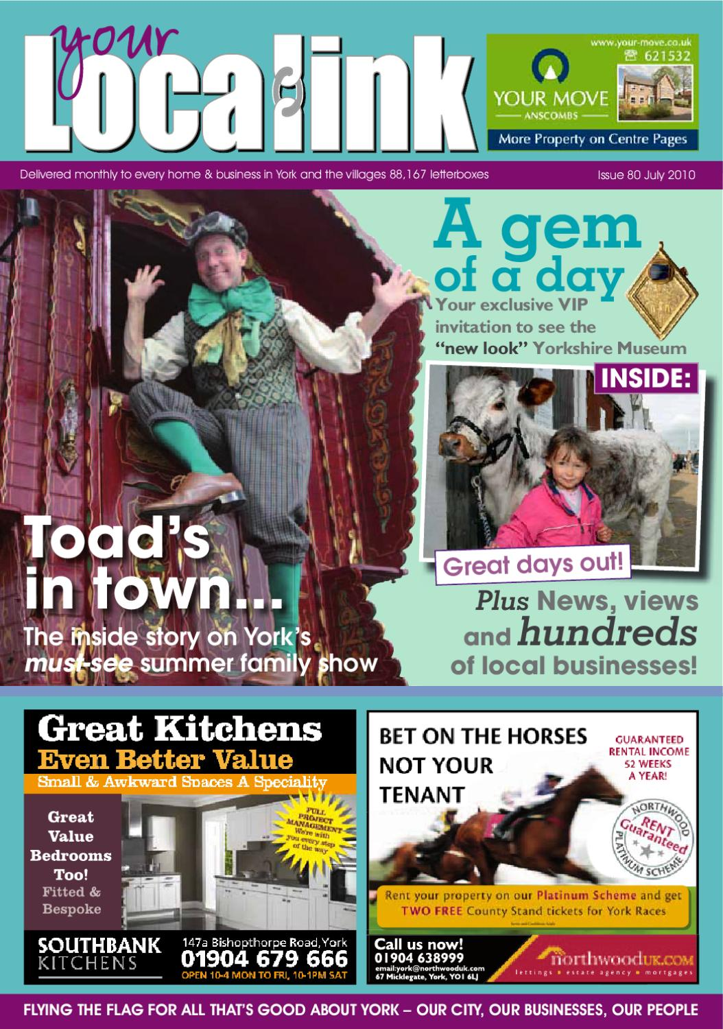 Your Local Link Magazine July 2010 by Your Local Link Ltd - issuu
