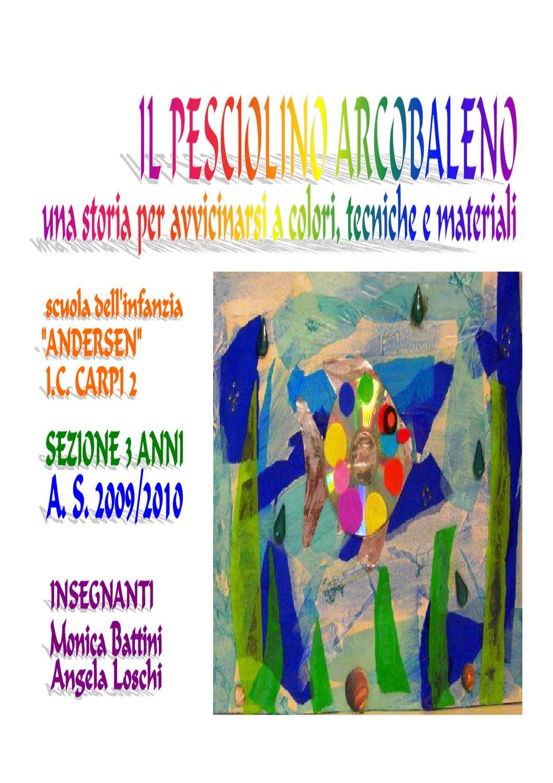 Il pesciolino arcobaleno by monica battini issuu for Pesciolino da colorare