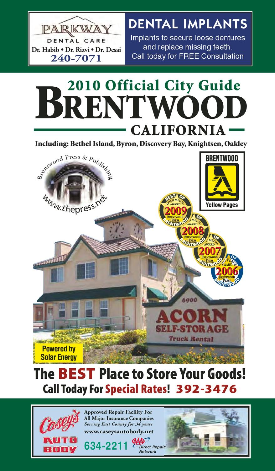 5126665050 Brentwood Official City Guide   Business Directory 2010-2011 by Brentwood  Press   Publishing - issuu