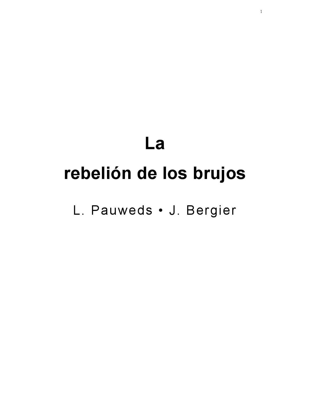 Larebelión de los brujos by roy r - issuu