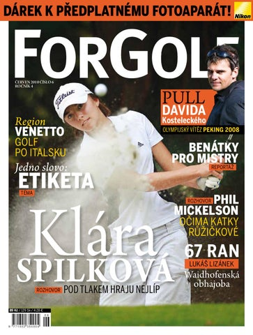 ForGolf 2010 6 by Golf Czech - issuu 1009854ff24