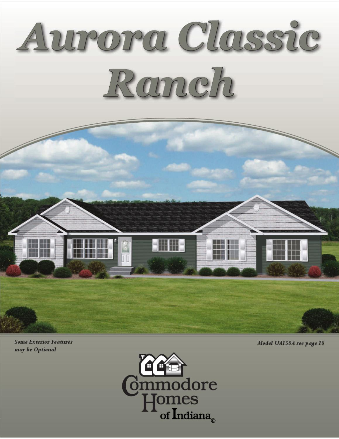 Aurora Classic Ranch (HUD Code) by The Commodore Corporation - issuu