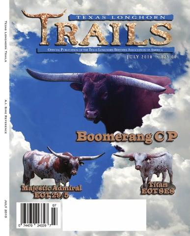 eb85b7c0dc Texas Longhorn Trails by Texas Longhorn Trails Magazine - issuu