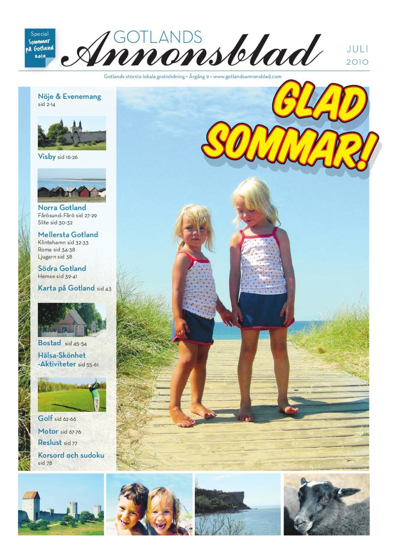 competitive price 4be37 cb46d Gotlands Annonsblad 2010 v.26 by Svenska Civildatalogerna AB - issuu