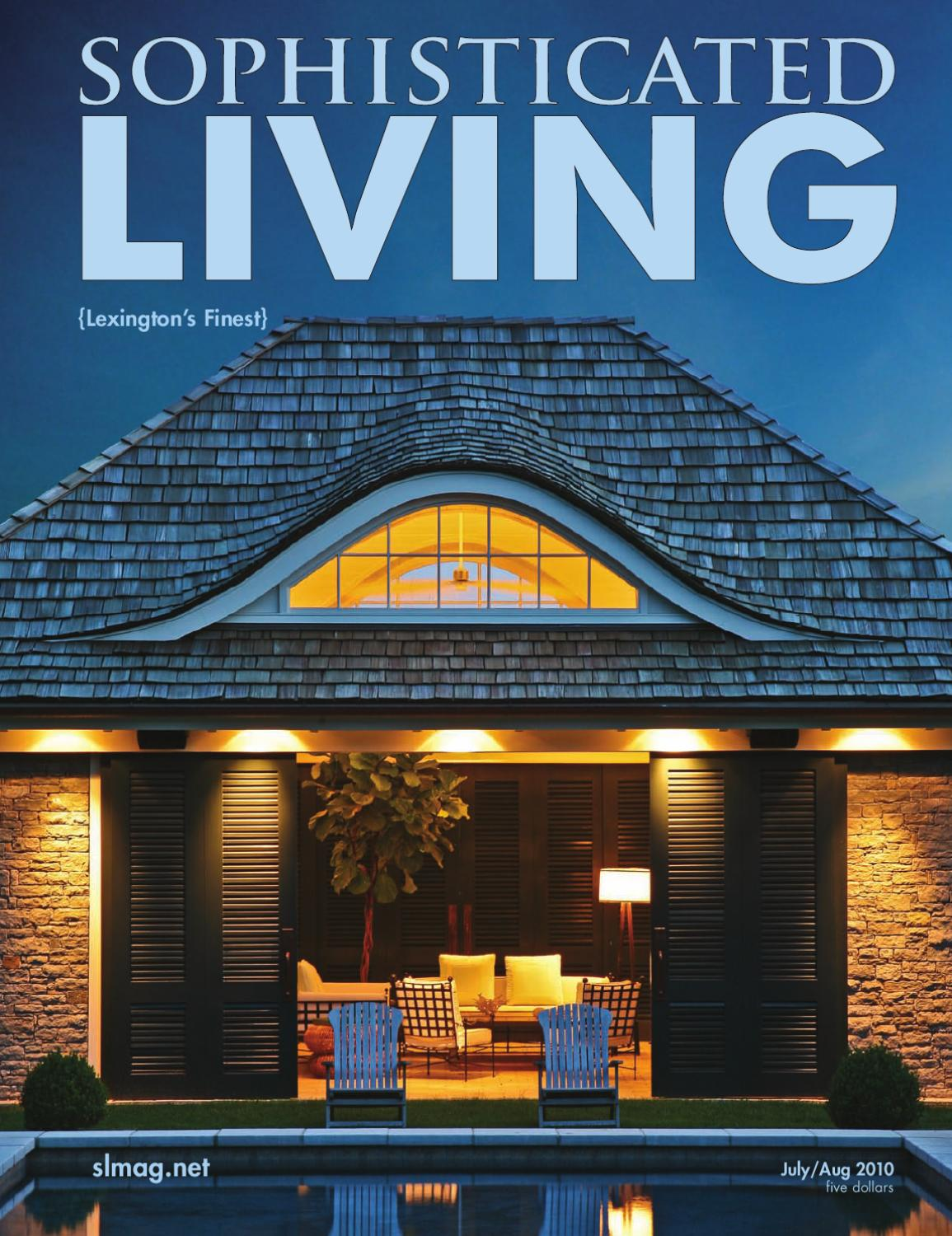 Sophisticated Living Magazine Lexington Edition By