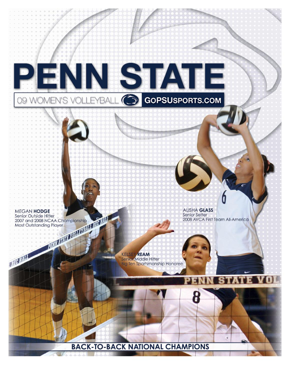 2009 Penn State Women S Volleyball By Penn State Athletics Issuu