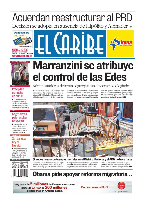 El Caribe   Edición Impresa by Multimedios del Caribe - issuu